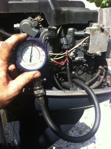 Marine Engine Compression Check